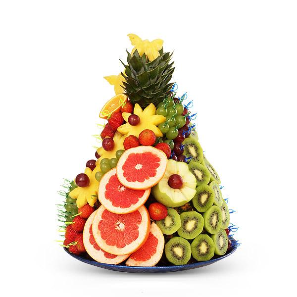 Горки из фруктов как